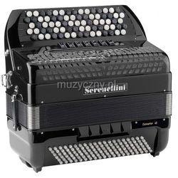 Serenellini 443 CR Cassotto (2+1) 44(77)/3/7 120/5(F/N-2)/3 akordeon guzikowy z konwertorem (czarny) Płacąc przelewem przesyłka gratis!