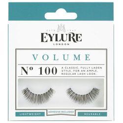 Eylure Glue On Strip - Sztuczne rzęsy na pasku Nr 100 Volume, 1 para + klej 1ml