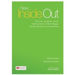 New Inside Out Elementary: Teacher´s Book with eBook and Test CD Pack Kay, Sue