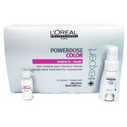 L'Oreal Serie Expert Powerdose Color (W) serum do włosów farbowanych 30x10ml