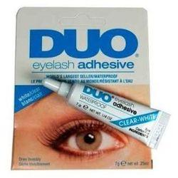 Duo Eyelash Adhesive White - Clear - Klej do rzęs biały, 7 g