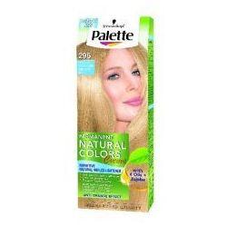 Palette Permanent Natural Colors Farba do włosów nr 295 Patelowy Czysty Blond