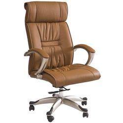 Fotel biurowy Q-082 brązowy
