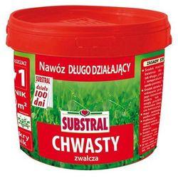 SUBSTRAL 100 dni nawóz do trawników zwalczający CHWASTY 5KG
