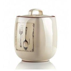 WYPRZEDAŻ-Wyrób ceramiczny pojemnik zamykany rozm.16.5x11x11cm.