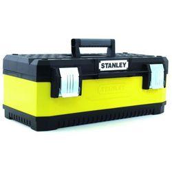 Stanley Skrzynka na narzędzia 20 cali wykonana z metalu i plastiku Darmowa wysyłka i zwroty