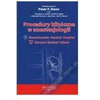 Procedury kliniczne w anestezjologii (opr. twarda)