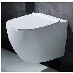 BENITO SLIM Miska WC wisząca + deska wolnoopadająca