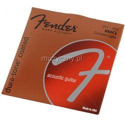 Fender 880CL 80/20 coated struny do gitary akustycznej 11-52