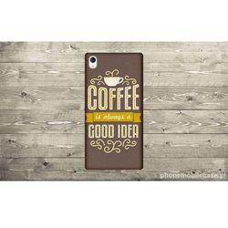 ETUI NA TELEFON SONY M4 - COFFEE