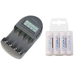 ładowarka BC-450 + 4 x R6/AA Panasonic Eneloop R6 AA 2000mAh BK-3MCCE/4T (box)