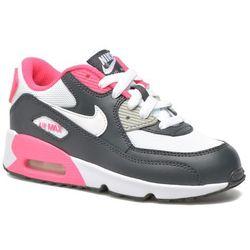 Tenisówki i trampki Nike NIKE AIR MAX 90 MESH (PS) Dziecięce Szary 100 dni na zwrot lub wymianę