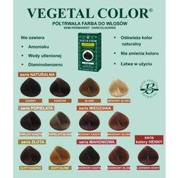Herbatint półtrwała farba do włosów Vegetal Color seria Miedziana 4R miedziany kasztan