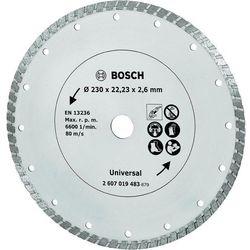 Tarcza diamentowa TS Turbo Bosch, 230 mm