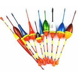 10pcs Lots Fishing Lure Floats Bobbers Slip Drift Tube Indicator Assorted Sizes w51007