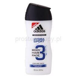 Adidas 3 Hydra Sport żel pod prysznic dla mężczyzn 250 ml + do każdego zamówienia upominek.