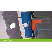 Stabilizator stawu kolanowego z pasami ukośnymi REHAproactive Stabilizator, staw kolanowy, otwór na rzepkę, REHAproactive, pasy ukośne, ERH 35/F/U