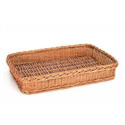 Koszyk z wikliny do pieczywa, ręcznie robiony | GN 1/1