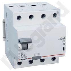 Legrand Wyłącznik różnicowoprądowy RX3 4P 25A 30mA AC 402062