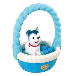LITTLE LIVE PETS Piesek w koszyku niebi.