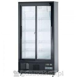 Szafa chłodniczna do butelek 500 l drzwi przesuwane   882171