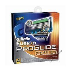 Wkłady do maszynek zasilanych bateryjnie Gillette Fusion ProGlide Power (4 sztuki)