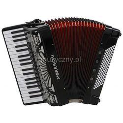 Moreschi 496 EX 37/4/11 96/4/4 Musette akordeon (czarny)