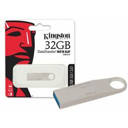 Pendrive Kingston 32GB DataTraveler SE9 Metal Silver USB 3.0