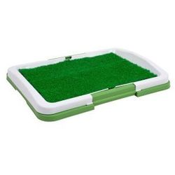 Kuweta dla psa szczeniaka szczeniąt z trawą mata trawiasta