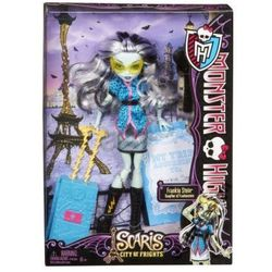 Monster High Wyprawa do Upioryża Frankie Stein Y7665