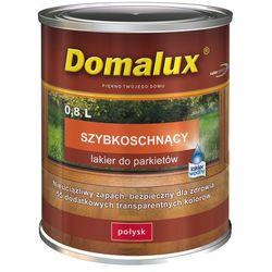 Lakier do parkietów Domalux szybkoschnący Bezbarwny 0,8l półmat Domalux