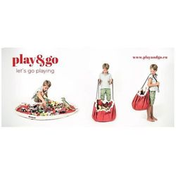 PLAY&GO Worek na zabawki/Mata do zabawy - Red