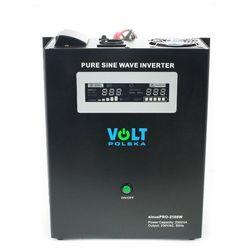 VOLT sinusPRO-2500W Przetwornica samochodowa 1800W/2500W 24V/230V z pełną sinusoidą oraz funkcją UPS i prostownika