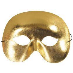 Maska Metalik Złota