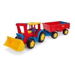 Wader Gigant Traktor ładowarka z przyczepą