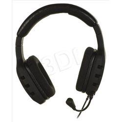 Słuchawki z mikrofonem OZONE RAGE ST - czarne
