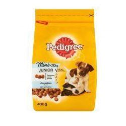 Pedigree Vital Protection Mini Junior z kurczakiem i ryżem małe rasy karma pełnoporcjowa 400 g