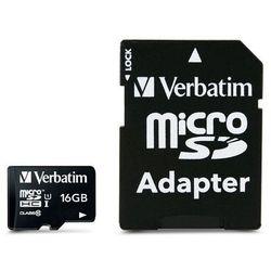 Verbatim Premium 16GB MicroSDHC Klasa 10 pamięć flash