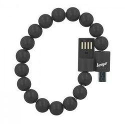 Kabel bransoletka beeyo micro USB czarna