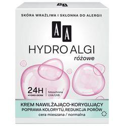 AA Hydro Algi Różowe Krem nawilżajšco-korygujšcy na dzień - cera normalna i mieszana 50ml