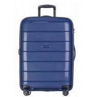 4a30b5c6ae683 PUCCINI walizka średnia twarda z kolekcji MADAGASCAR MADAGASKAR PP013 4  koła zamek szyfrowy TSA materiał polipropylen