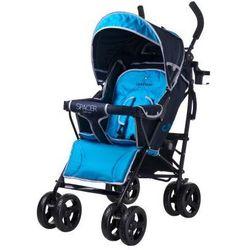 Caretero SPACER DELUXE wózek dziecięcy spacerówka niebieski blue