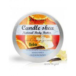Świeczka z masłem shea i olejem kokosowym -wanilia i pomarańcza 150g