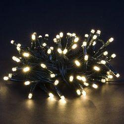 Lampki na choinkę, ciepły biały, 80 LED