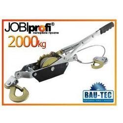 Wciągarka - wyciągarka linowa 2000kg 2T