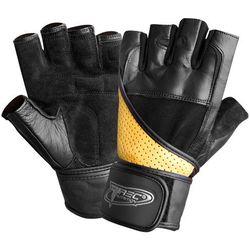Trec - Rękawice treningowe SUPER STRONG (czarno-brązowe)