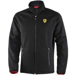 Softshell dziecięcy czarny Ferrari F1 Team