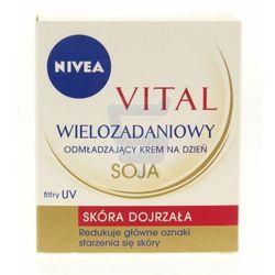 Nivea Visage Vital Wielozadaniowy krem do twarzy z soją na dzień 50 ml