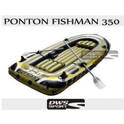 PONTON FISHMAN 350 Z WYPOSAŻENIEM - 4 osobowy