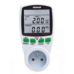 ORNO OR-WAT-408 Dwutaryfowy watomierz, kalkulator energii DARMOWA DOSTAWA DO 400 SALONÓW !!